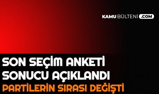 Erdoğan-İmamoğlu, Erdoğan-Mansur Yavaş Anket Sonucu Açıklandı