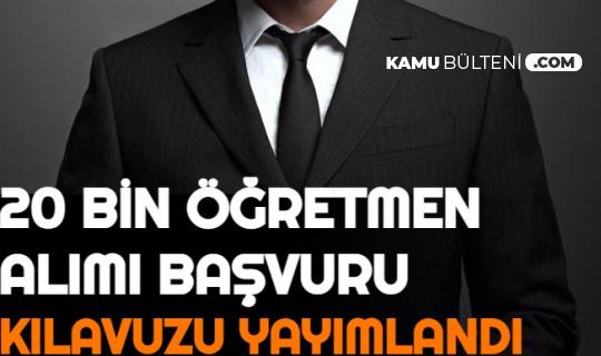 MEB 20 Bin Öğretmen Alımı Başvuru Takvimini Açıkladı: İşte Öğretmen Atama Kontenjan-Branş Dağılımı