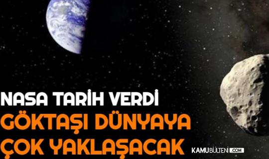 NASA Tarih Verdi: Göktaşı Dünyanın Çok Yakından Geçecek