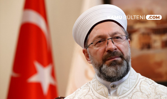 Son Dakika: Ali Erbaş Koronaya Yakalandı