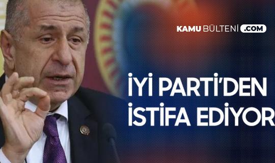 Ümit Özdağ İYİ Parti'den İstifa Etti