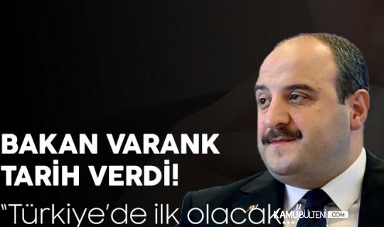 Yerli Sprey Aşı için Sanayi ve Ticaret Bakanı Mustafa Varank'tan Açıklama Geldi! Tarih Belli Oldu...