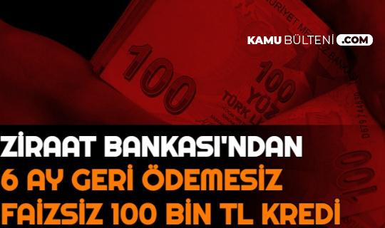 Ziraat Bankası'ndan Gençlere Faizsiz 6 Ay Geri Ödemesiz 100 Bin TL Kredi (Köyümde Yaşamak İçin Bir Sürü Nedenim Var)