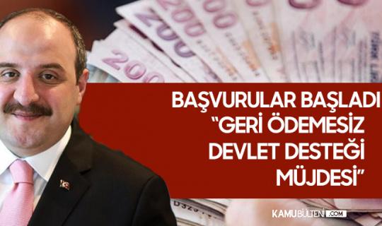Bakan Varank Müjdeledi: KOBİ'lere 300 Bin Lira Geri Ödemesiz, Toplamda 1 Milyon Liraya Kadar Devlet Desteği