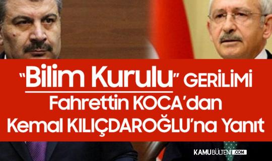 Fahrettin Koca'dan CHP Genel Başkanı Kılıçdaroğlu'na Tepki: Saygılı Olun