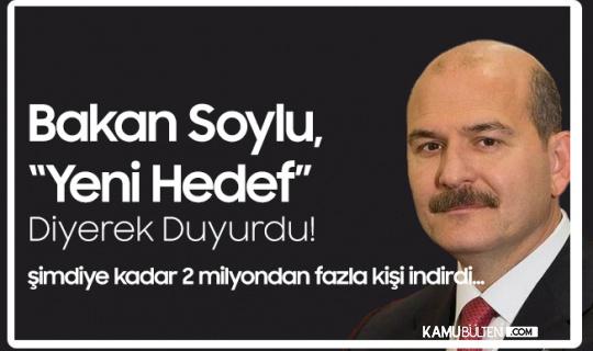 İçişleri Bakanı Süleyman Soylu, 'Yeni Hedef' Diyerek Paylaştı