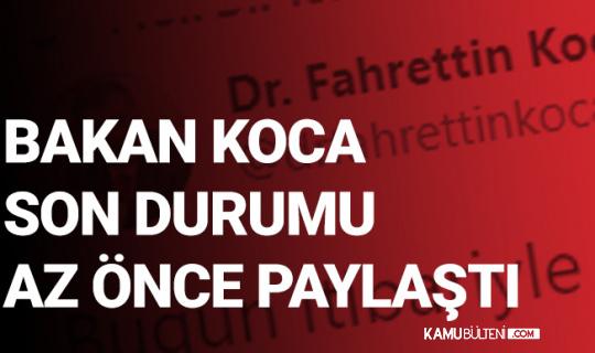 """Sağlık Bakanı Fahrettin Koca, """"Bugün İtibariyle 20 Milyonu Geçti"""" Diyerek Duyurdu"""