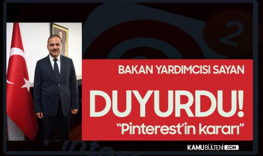 """Sosyal Medya Devi Pinterest'ten """"Türkiye"""" Kararı"""