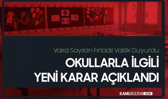Vaka Sayıları Fırladı! Samsun'da İlkokullarla İlgili Yeni Karar
