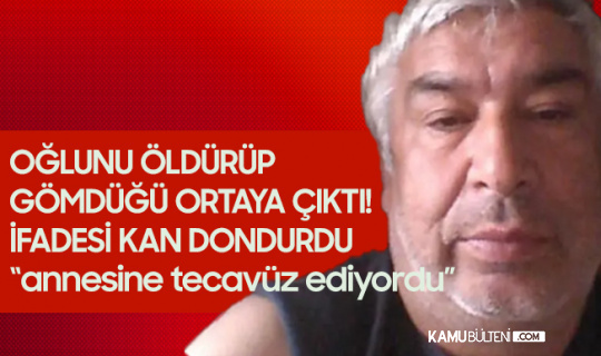 Zonguldak'ta Kan Donduran Olay! Oğlunu Öldüren Babadan Şok Eden İtiraf: Üvey Annesine Tecavüz Etti...