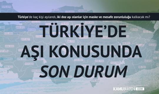 Aşılamada Son Durum! Türkiye'de Kaç Kişi Aşılandı?