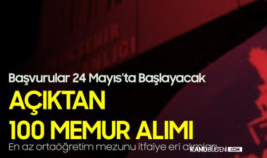 İzmir Büyükşehir Belediyesi'ne Açıktan 100 Memur Alımı (İtfaiye Eri Alımları) için Başvurular 24 Mayıs'ta Başlayacak