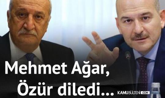 Mehmet Ağar, İçişleri Bakanı Soylu'dan ve Tüm Emniyet Mensuplarından Özür Diledi