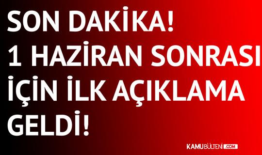 Son Dakika! Cumhurbaşkanı Erdoğan'dan Kademeli Normalleşme Açıklaması: 1 Haziran Sonraki Süreci de Ele Aldık