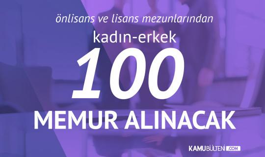 Tekirdağ Büyükşehir Belediyesi 100 Memur Alımı KPSS ve Diğer Şartlar