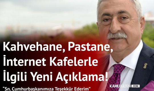 """TESK Genel Başkanı Palandöken'den """"Esnafa 5 Bin Liraya Kadar Destek"""" Açıklamasına Teşekkür Geldi"""