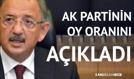 AK Partili Özhaseki , AK Parti'nin Oy Oranını Açıkladı