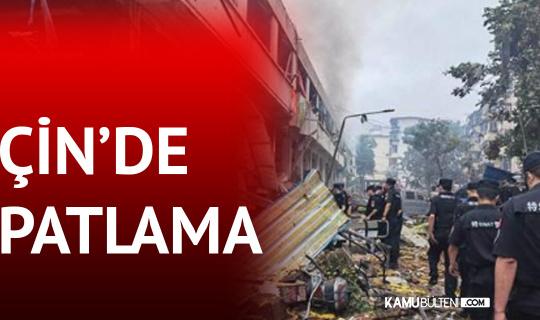Çin'de Patlama: 12 Ölü, 138 Yaralı