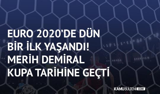EURO 2020'de Bir İlk Gerçekleşti! Merih Demiral Şampiyona Tarihine Geçti…