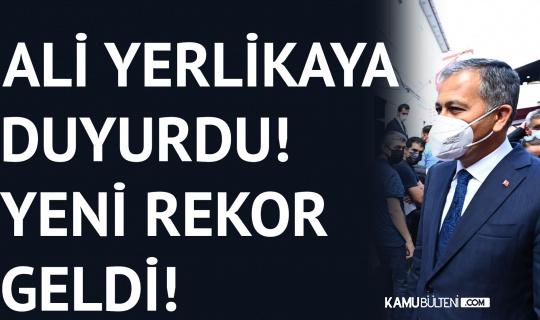 İstanbul Valisi Ali Yerlikaya Açıkladı! Yeni Rekor Geldi