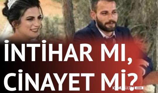 Mersin'de Gizemli Olay! Genç Çiftin Ölümü İntihar mı, Cinayet Mi?