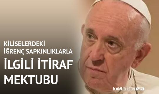 Papa'dan Kiliselerde Çocuklara Yönelik Cinsel İstismarlar Konusunda İtiraf