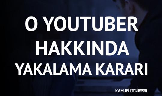 Sözde 'Sosyal Deney' Yapan Youtuber Hakkında Yakalama Kararı