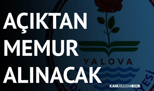 Yalova Kadıköy Belediyesi'ne Memur Alımı Yapılacak