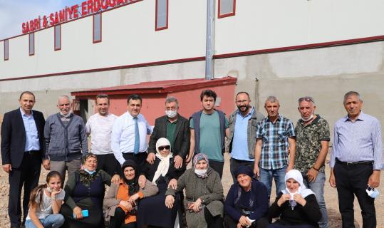 250 kişinin istihdam edileceği fabrika üretime başladı