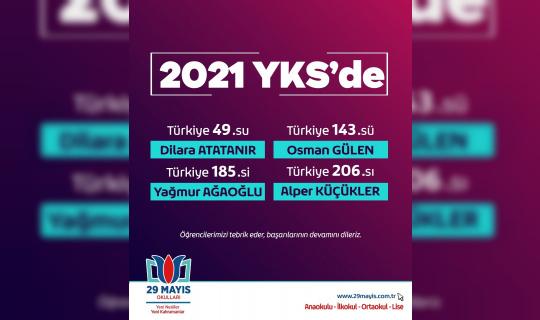 29 Mayıs Okulları öğrencileri hayallerine adım adım yaklaşıyor