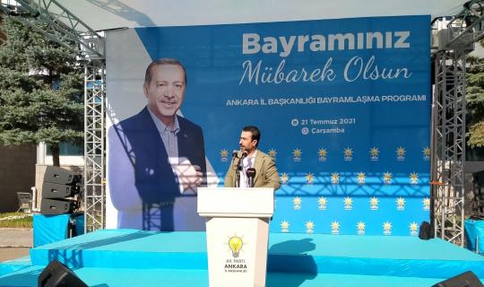 AK Parti Ankara İl Başkanlığında bayramlaşma programı