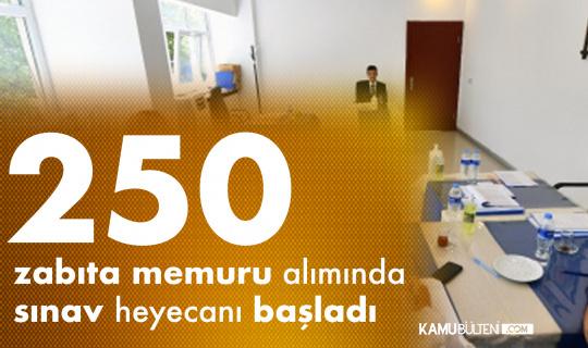 Ankara Büyükşehir Belediyesi'ne 250 Zabıta Memuru Alımında Sınav Heyecanı Başladı