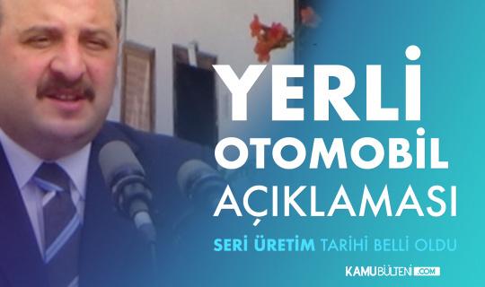 """Bakan Varank: """"2022'nin sonunda yerli otomobilde seri üretime geçeceğiz"""""""