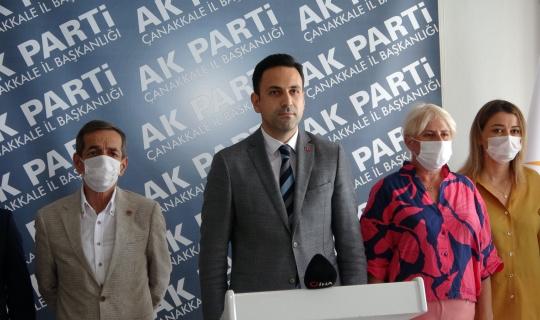 Başkan Makas'tan Assos'taki kaçak yapıya tepki