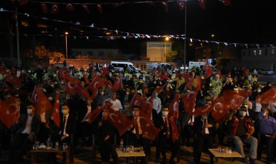 Bitlis'te Demokrasi ve Milli Beraberlik Günü programı