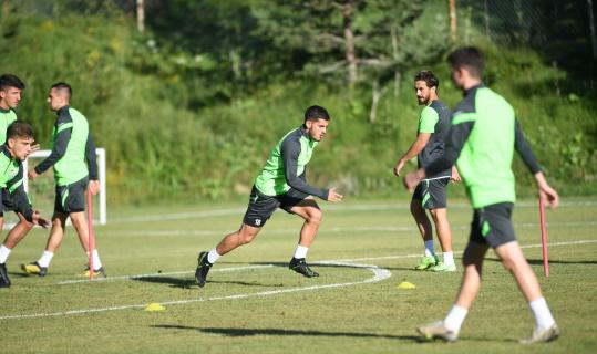Bursaspor yeni sezon hazırlıklarını sürdürüyor