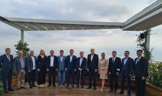 CHP'li başkanlar İmamoğlu ile bir araya geldiler