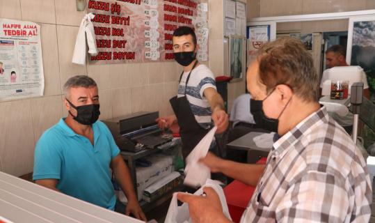Edirne'deki kasaplarda yoğun mesai
