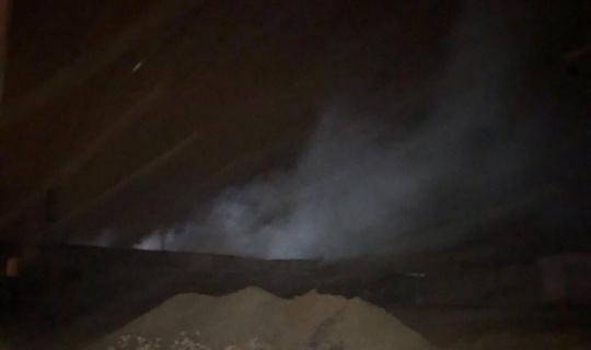 Geri dönüşüm tesisinde yangın söndürüldü