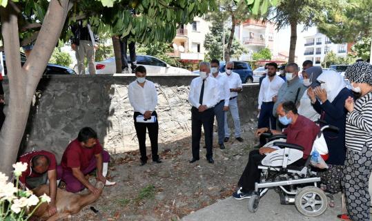 Isparta Belediyesi 200 engelli ve yaşlı vatandaşın kurbanını kesti