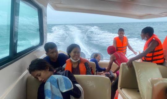 Kamboçya açıklarında tekne yandı: 1 ölü