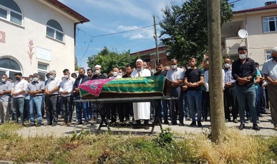 Karnındaki bebeği ile ölen genç kadının toprağa verildi