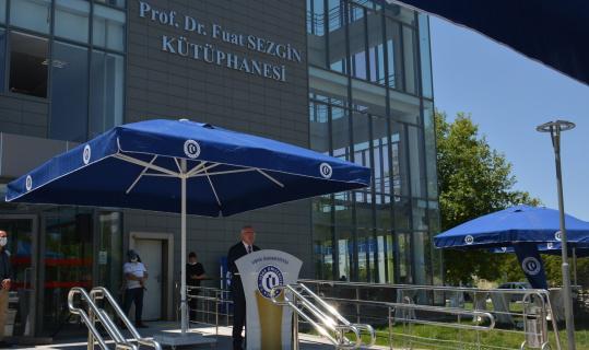 Prof. Dr. Fuat Sezgin, Uşak Üniversitesinde anıldı