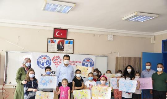 Safranbolu'da öğrencilerden sanat etkinliklerine yoğun ilgi