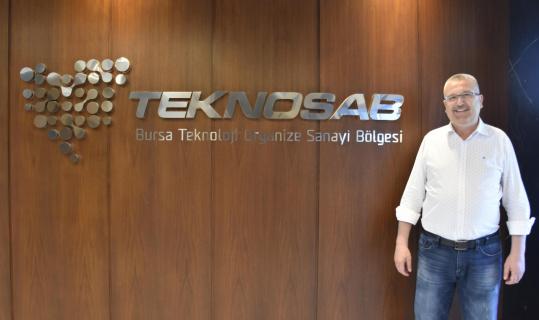 Türkiye'nin yeni teknoloji üssü TEKNOSAB'da fabrikalar yükselmeye başladı