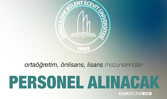 Zonguldak Bülent Ecevit Üniversitesi'ne Hemşire, Paramedik ve Tıbbi Sekreter Alımı Yapılacak