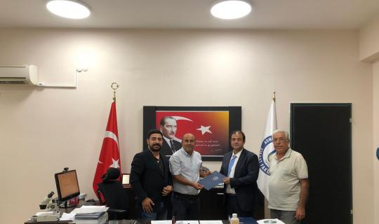 ADÜ Ziraat Fakültesi ile Alman firmasının Türkiye temsilcisi arasında iş birliği