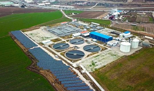 Arıtmanın enerjisi yenilenebilir kaynaklardan sağlanıyor
