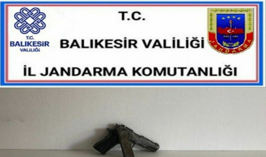 Balıkesir'de jandarma 13 şahsı gözaltına alındı