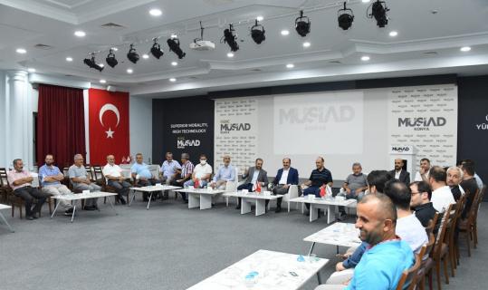 Başkan Altay, MÜSİAD Konya'da iş adamlarıyla buluştu